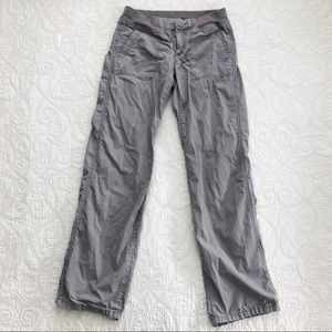 Loft Gray Lightweight Cotton Cargo Pants LIKE NEW!